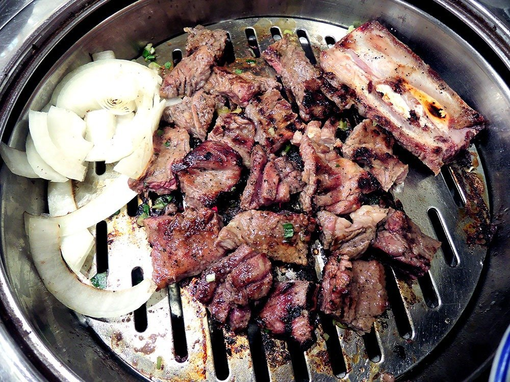 When in Seoul, South Korea, you have to eat Korean BBQ.