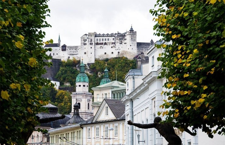 Find Salzburg's beautiful boutique hotels in the city's New Town, home to the lovely Mirabell Palace and Gardens. It's a short walk from the historic old town and the starting point for many tours that go in and around the city. If you're looking for a slightly calmer yet still central hotel in the city, here's where to stay in Salzburg.