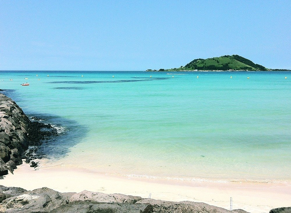 Don't leave Jeju without a trip to the island's best beaches – Hyeopjae and Geumneung.