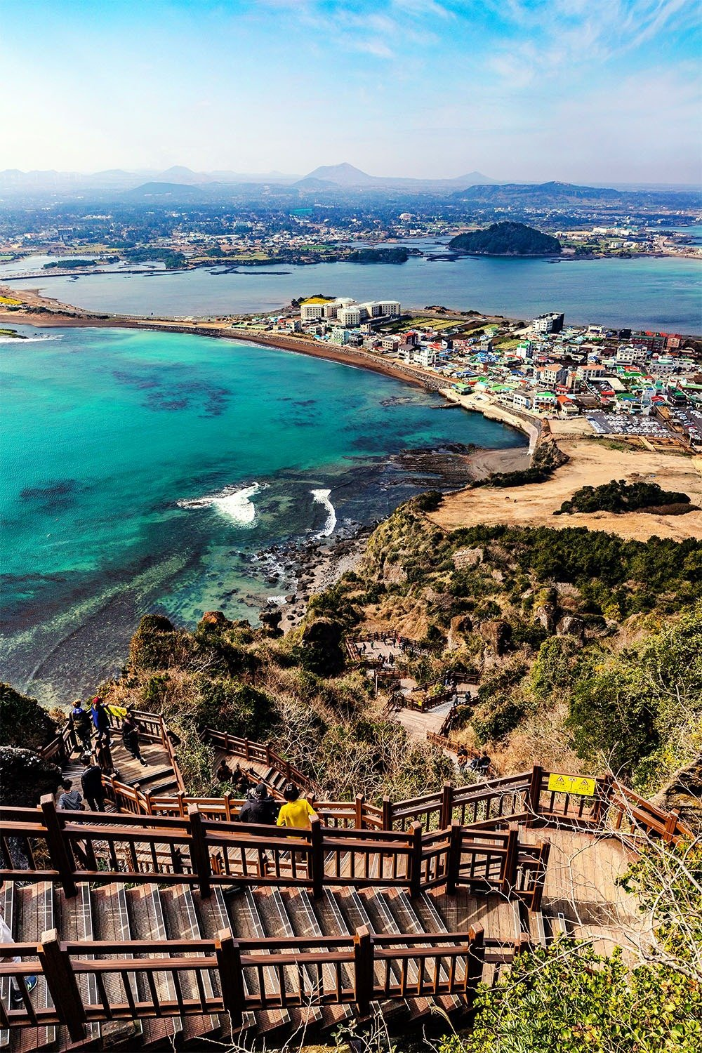 Drive east and go up the Seongsan Ilchulbong for amazing views of Jeju Island. Here's your essential Jeju travel guide and itinerary.