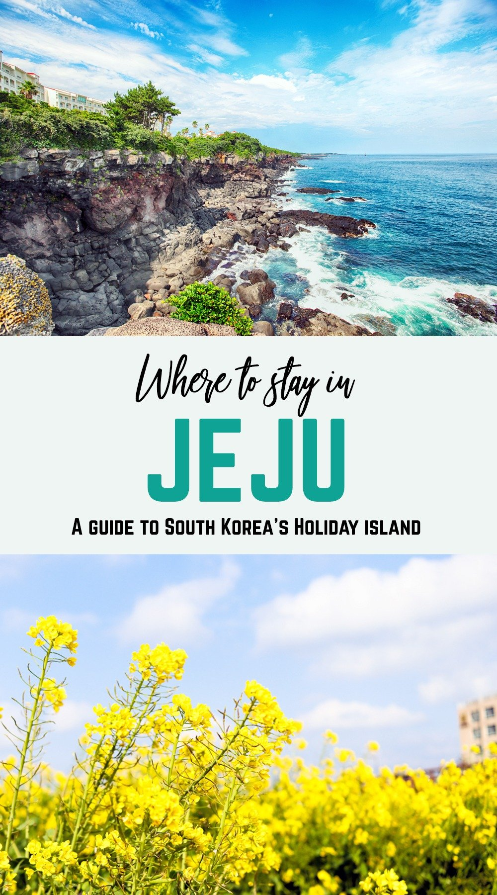 "Jeju Island is one of South Korea's best summer destinations. With beautiful beaches, stunning natural landscapes, and all kinds of quirky sights, there's so much to see and do in this ""island of the gods."" Plan your trip and get ready for an exciting holiday – here's where to stay in Jeju."
