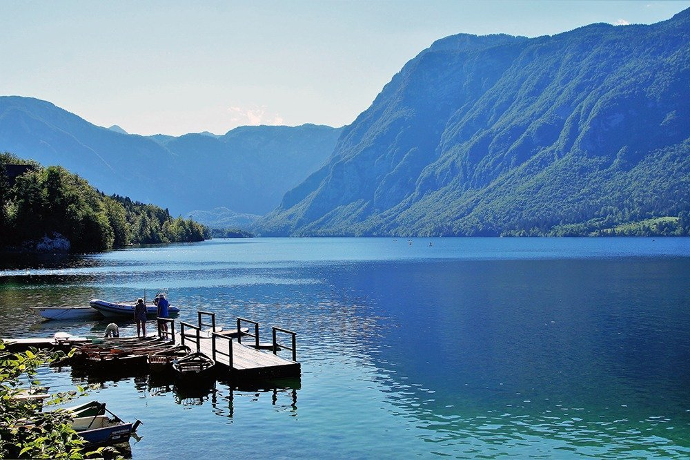 Explore laidback and offbeat destinations a short drive away from Lake Bled, like the beautiful Lake Bohinj.