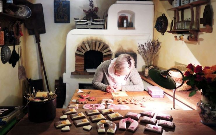 Cesky Krumlov is home to rich traditions, including gingerbread-making.
