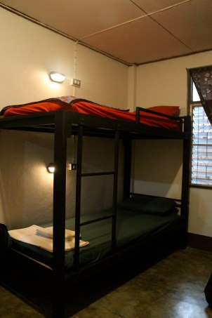 Bunkbeds in dormitory