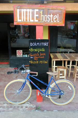Bicycle at Little Hostel