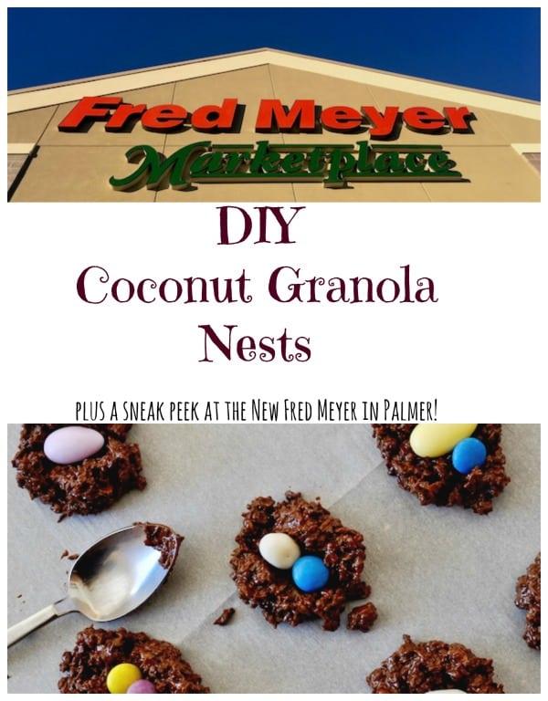 DIY Coconut Granola Nests