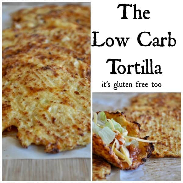 Low Carb Tortilla Collage