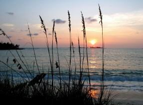 Sunrise Over Pelican Cay