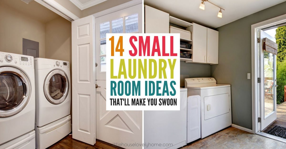 14 Small Laundry Room Ideas That Ll Make You Swoon Little