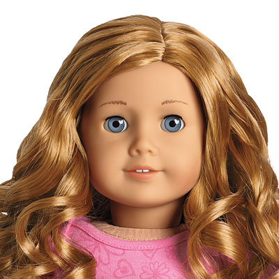 Red headed american girl doll