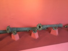 Old cannons made from church bells