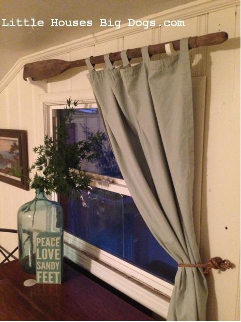 oar curtain rod littlehousesbigdogs