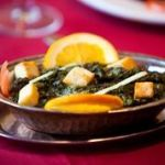 Best Indian Palak Paneer dish