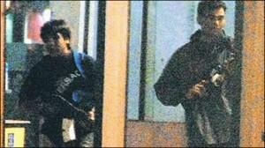 Pakistani terrorists in mumbai