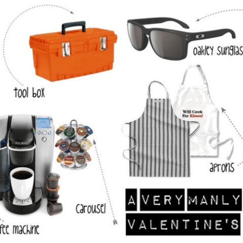 Gift Guide: Manly Valentine's