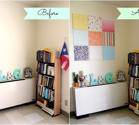 DIY: Canvas Wall Art