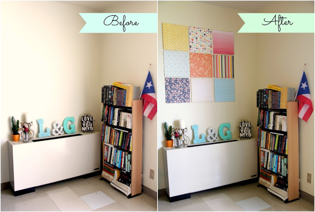 DIY: Canvas Wall Art