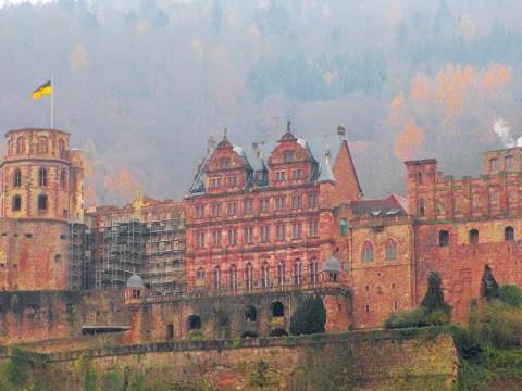 The Heidelberg Christmas Market: Peachy Sangria