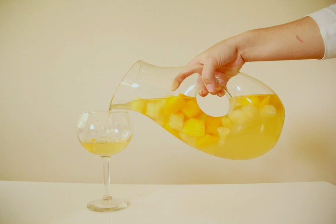 Fruity White Sangria – The Creative Collective