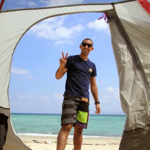Camping at Kouri Island!