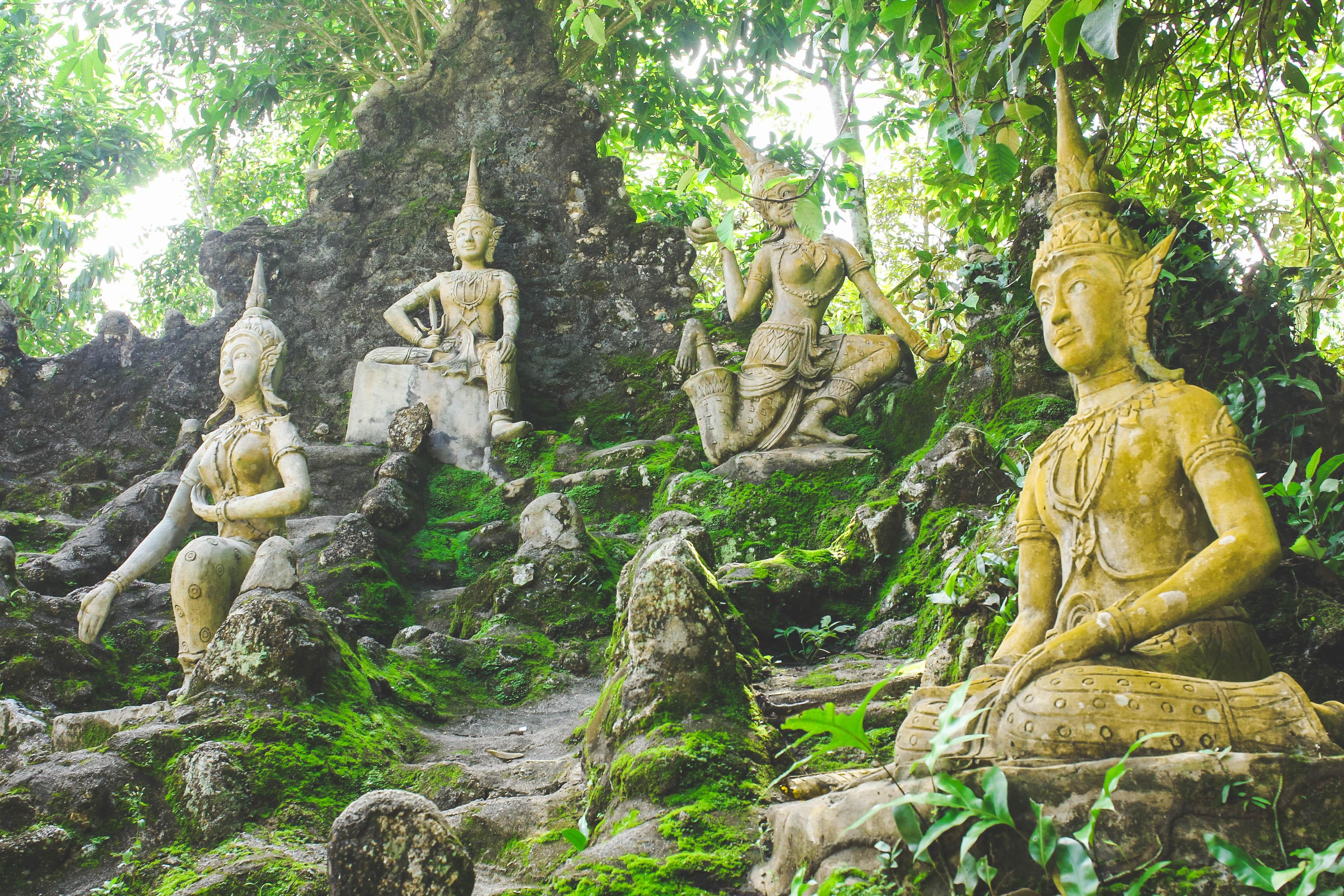 The Secret Buddha Garden Koh Samui Thailand Little Island Takara