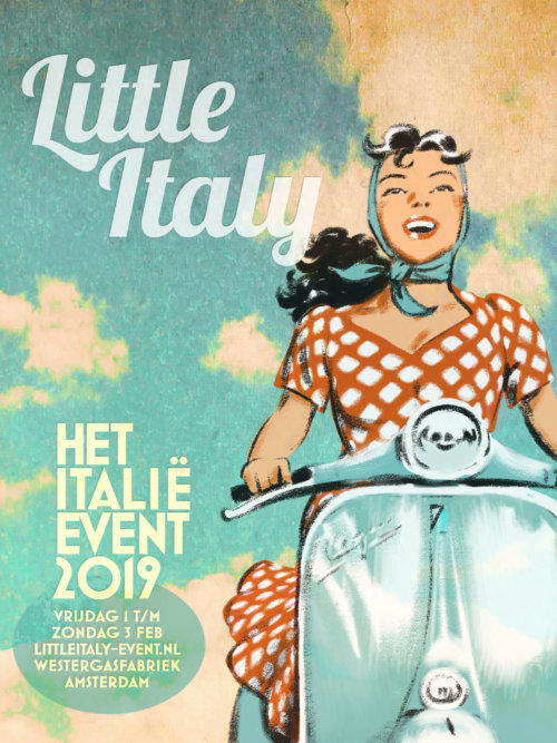 Little Italy het Italie event