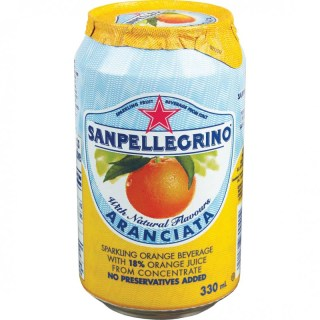 San Pellegrino soda orange