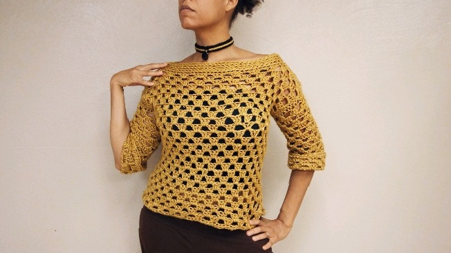 Free Crochet Sweater Pattern For Beginners So Easy Littlejohn S Yarn