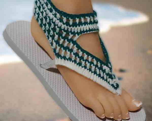 Easiest Crochet Flip Flop Pattern With Free Video Tutorial
