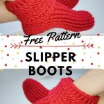 Easy Crochet Slipper Boots Free Pattern Video Tutorial Littlejohn S Yarn