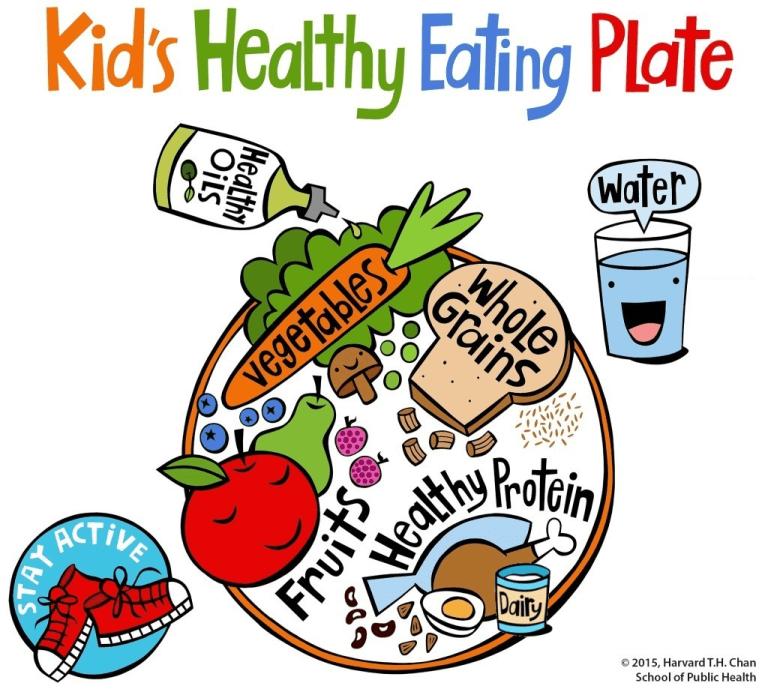 zdravá talíř pro děti