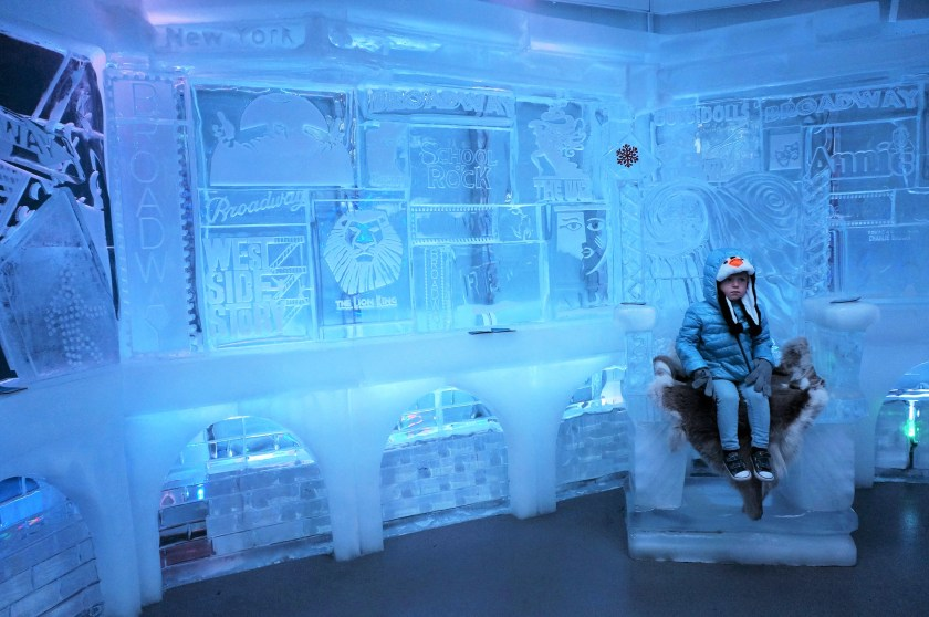 Minus5 Ice Bar located in NYC