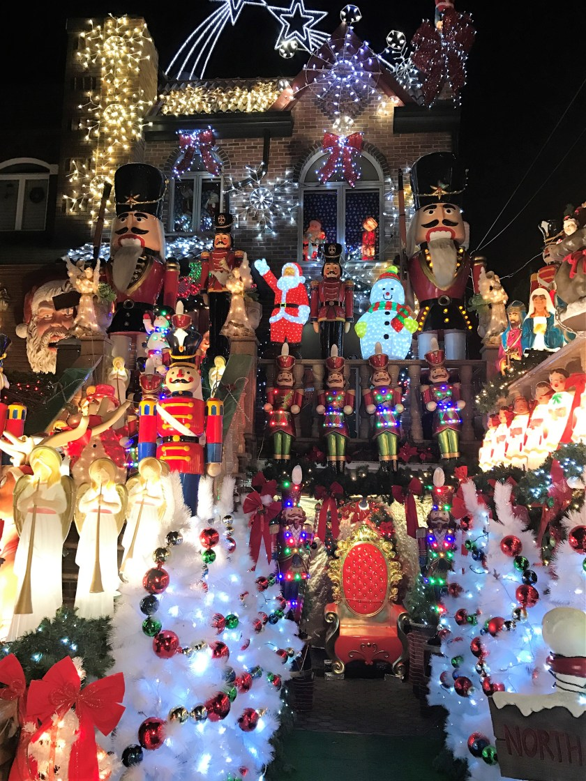 Dyker Heights Extravagent Christmas Lights
