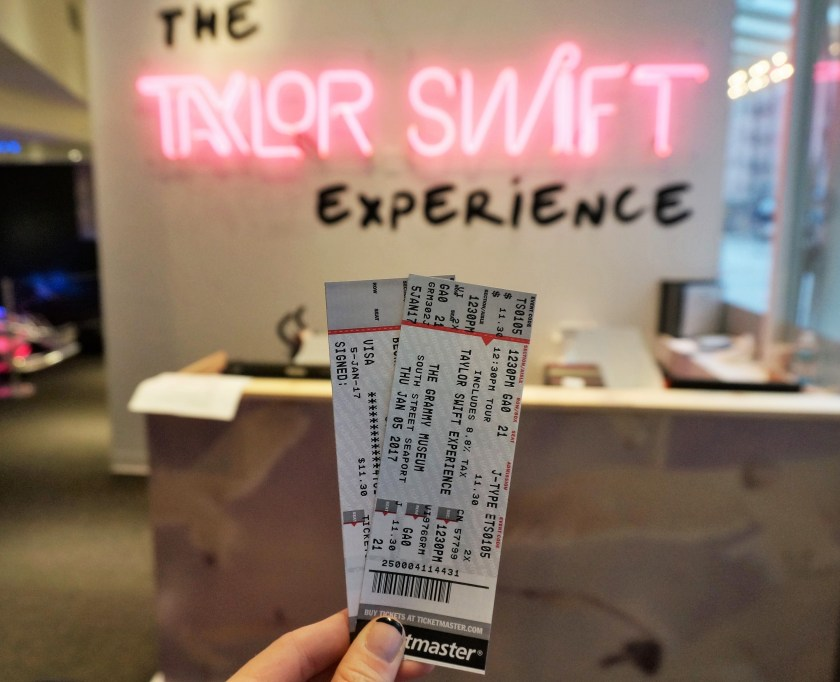 Taylor Swift Experience Ticket Giveaway