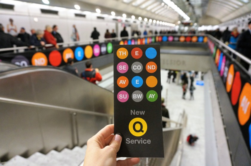 Exploring the new Second Ave Subway Interior