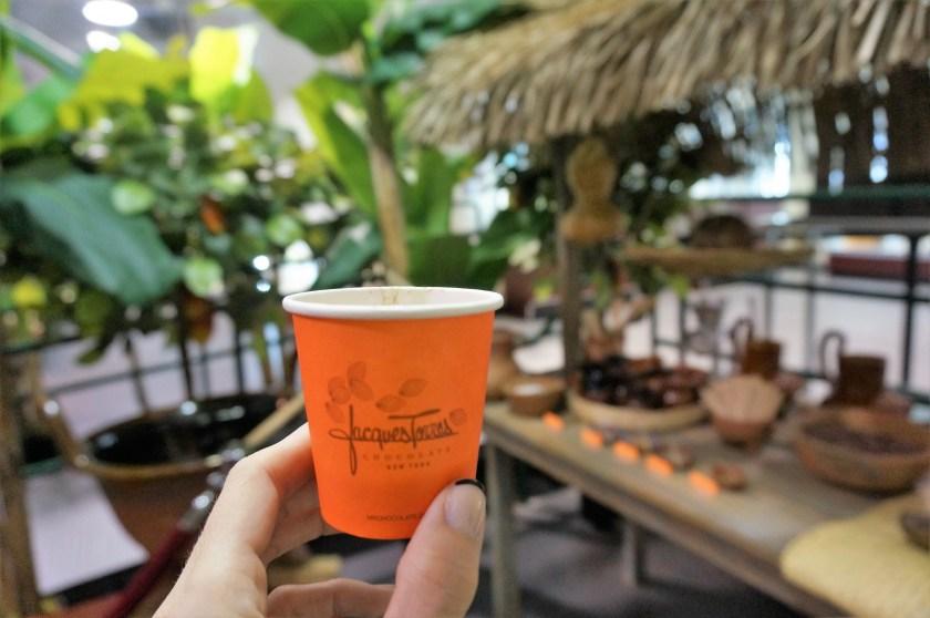 Hot Chocolate tasting at Choco-Story New York