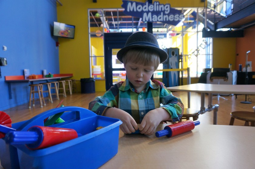 Crayola Experience in Easton - Modeling Magic