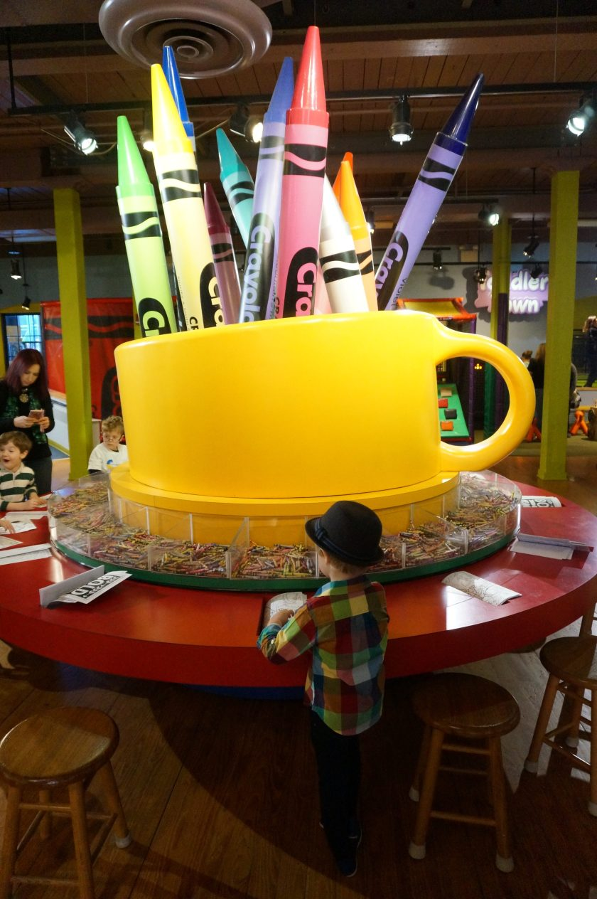 Crayola Experience in Easton - Colossal Caddy