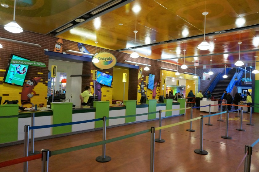 Crayola Experience in Easton - Admissions