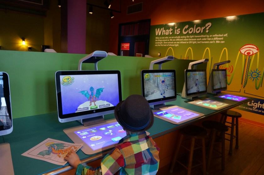Crayola Experience in Easton - Color Magic