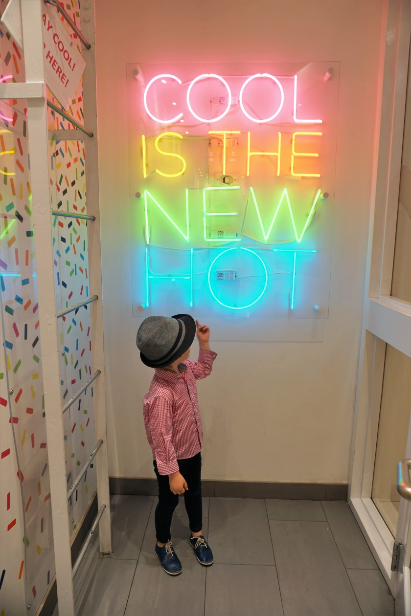 Cool is the New Hot Neon Sign at CoolMess