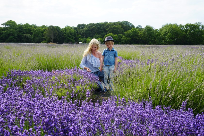 Making memories at Lavender by the Bay