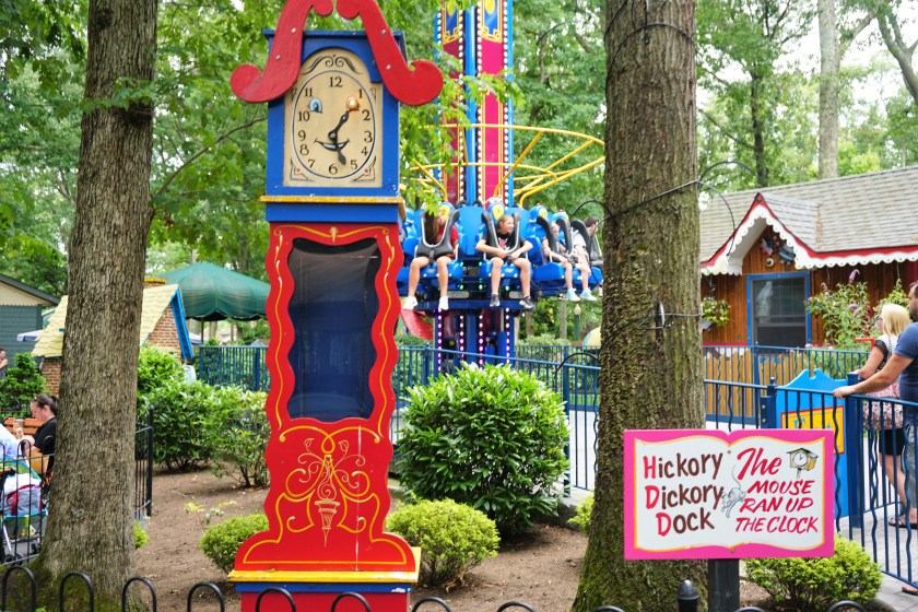 Hickory Dickory Dock at Storybook Land New Jersey