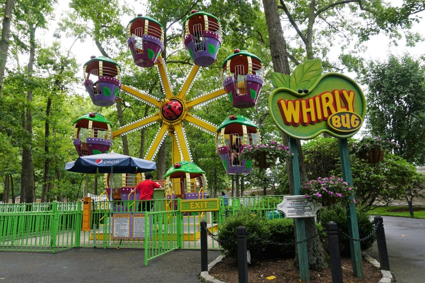 Whirly Bug Ride at Storybook Land in New Jersey