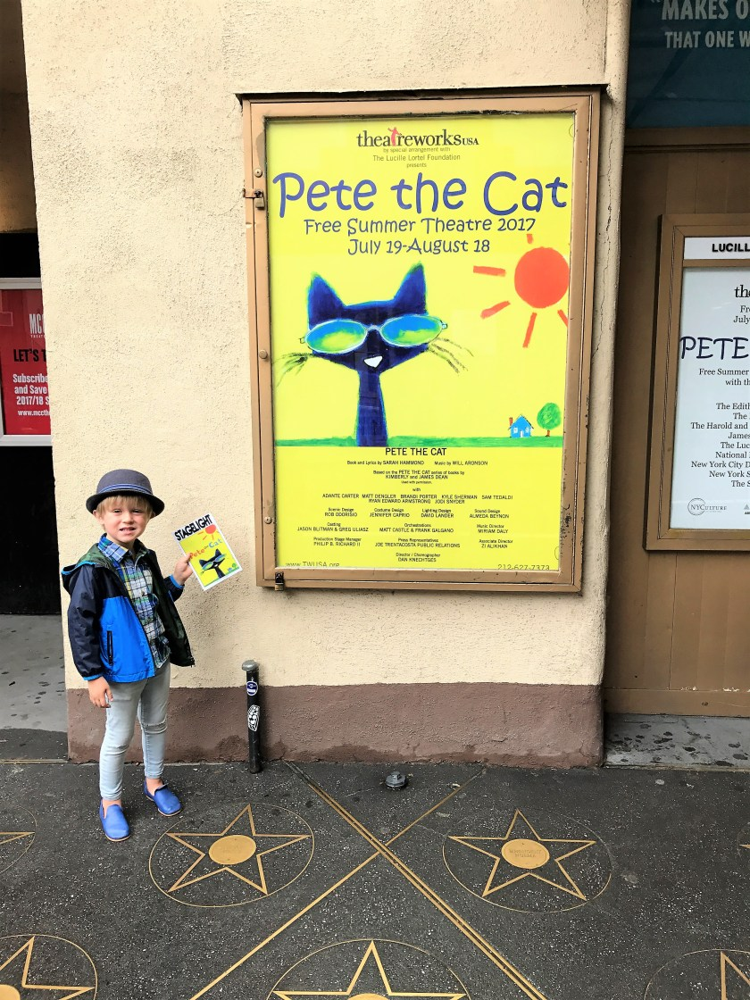 Pete the Cat the musical