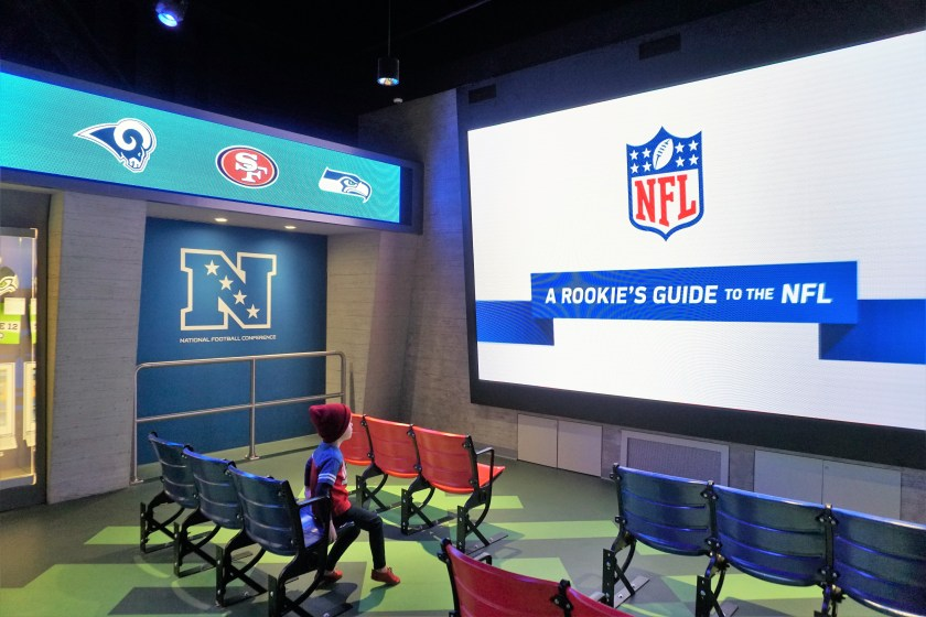 Perfect for Rookies - NFL Experience Times Square
