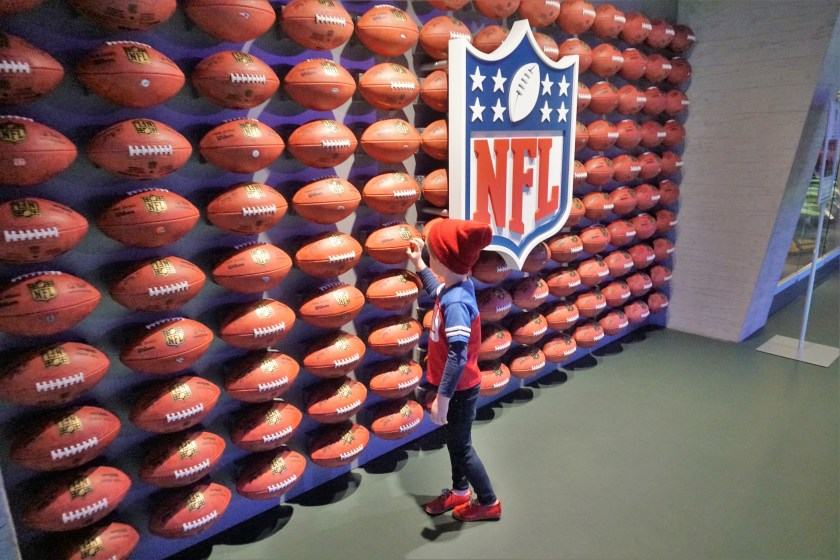 Inside thr NFL Experience Times Square