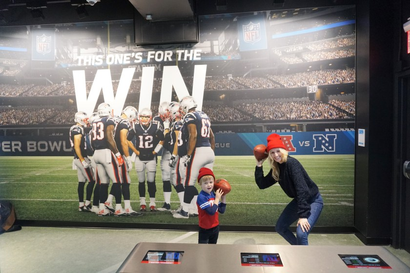 Quarterback Challenge at the NFL Experience