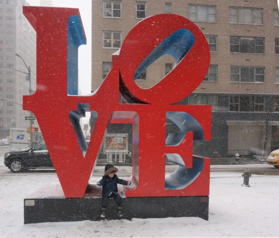 Love Sculpture in NYC