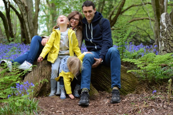 Me and Mine April Bluebell Woods